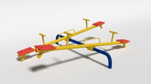 seesaw playground 3D