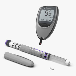 3D diabetic monitoring equipment