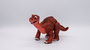 3D dinosaur cartoon