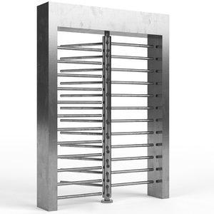 3D revolving gate