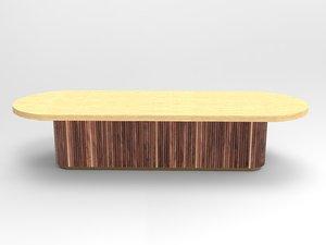 table boardroom 3D