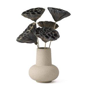 3D model bouquet decorative flower
