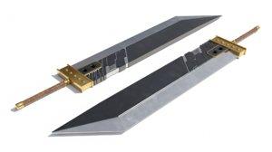 3D buster sword model