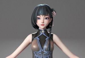 3D body hair clothes