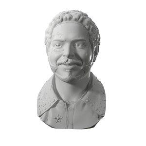 3D model post malone