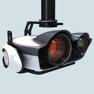 video camera steadicam 3D model