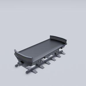 freight wagon 2 model
