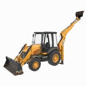 bulldozer generic construction equipment 3D model