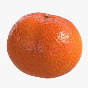 clementine polys 3D model