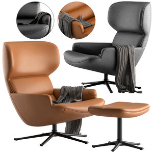 boconcept chair trento 3D