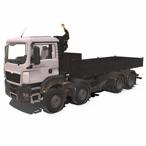 high-quality construction equipment 3D model