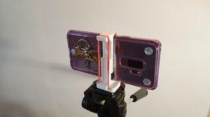 3D tripod smartphone adapter 1