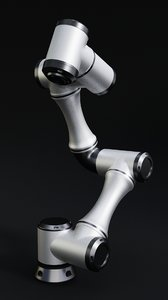 industrial robotic arm model