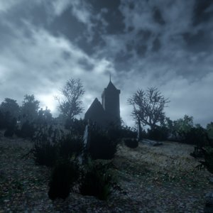 cemetery pack assets model