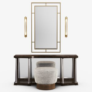 furniture caracole - pillar 3D