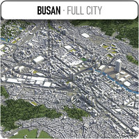 Busan - city and surroundings