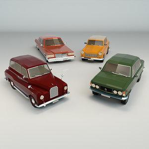 sedan car 3D model