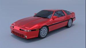 1988 toyota supra a70 3D model