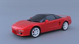 honda nsx 3D model