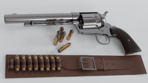 gun revolver colt model