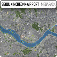 Seoul + Incheon + ICN Airport - full metropolitan area