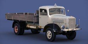 3D model mercedes-benz l 4500 truck