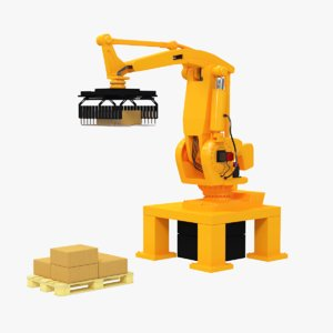 3D industrial palletizing robot