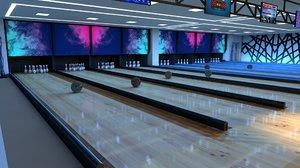 3D bowling centre
