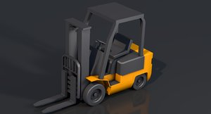 fork lift fo 3D
