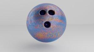 bowling ball artistic model