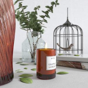eucalyptus vase decor 3D model