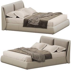 ditre italia bend bed 3D