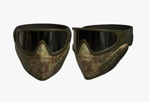 helmet mask protection 3D model