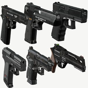 pistols pack glock hk model