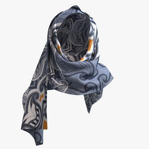 plane shawl 3D model