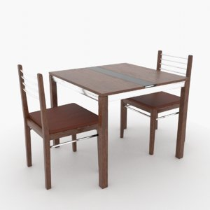 furniture dining 3D model