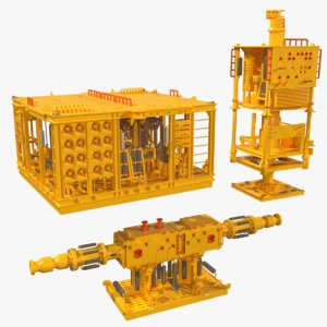 subsea structures model