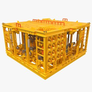 3D subsea manifold production
