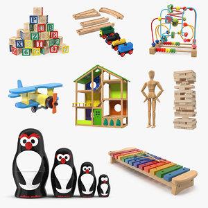 3D wooden toys 3