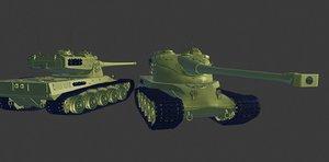 tanks s 3D