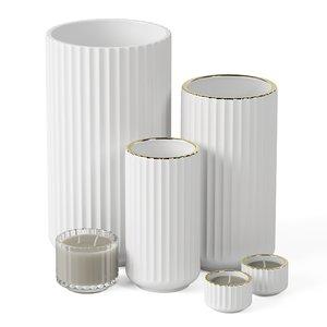 set vase 3D