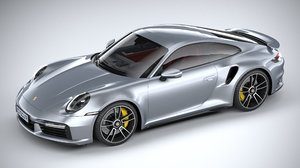 3D porsche 911 turbo