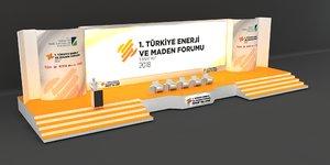 stage decoration 3D