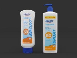 equate ultra sunscreen broad model