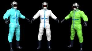 3D ready pilot flight suit