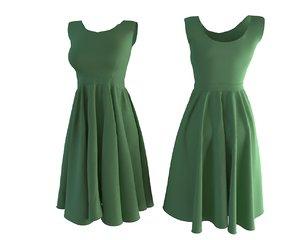 designer skirt model