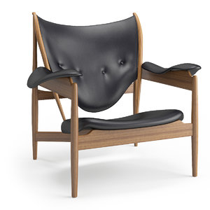 3ds max chieftain chair
