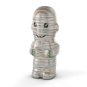 foil chocolate mummy 3D model