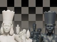 Beautiful Chess Female