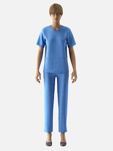 3D female surgeon dress